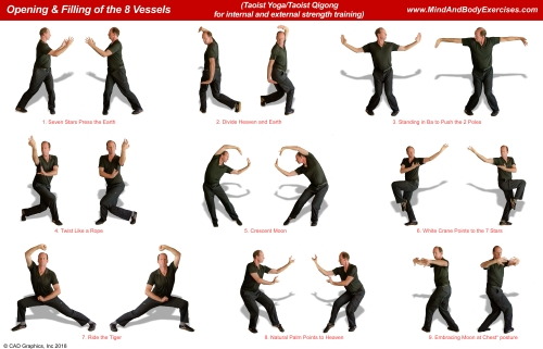 www MindandBodyExercises com | Taoist Yoga and/or Taoist Qigong
